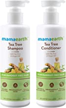 Mamaearth Tea Tree Anti Dandruff Hair Kit Tea Tree Shampoo, 250ml + Tea Tree Conditioner, 250ml