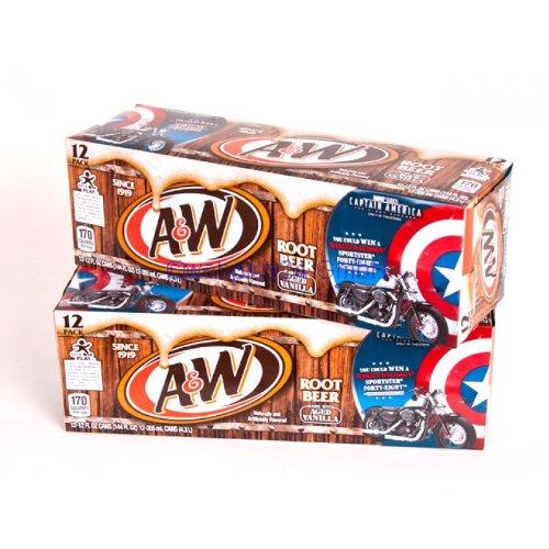 A&W Root Beer 12oz (355mL) 24 Pack inkl. 6,00 Euro DPG-Pfand
