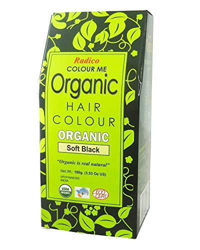 Radico Colour Me Organic Hair Colour - 100 g (Soft Black)