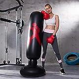 Fitness Sac de Frappe Autonome de Boxe Cible,sur Pied Exercices de Boxing...