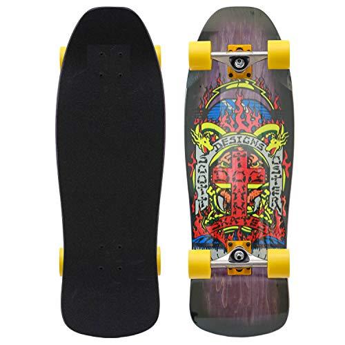 Dogtown Scott Oster Reissue Old Skool Complete Cruiser Skateboard 10.375 Inch komplett mit Venture Achsen