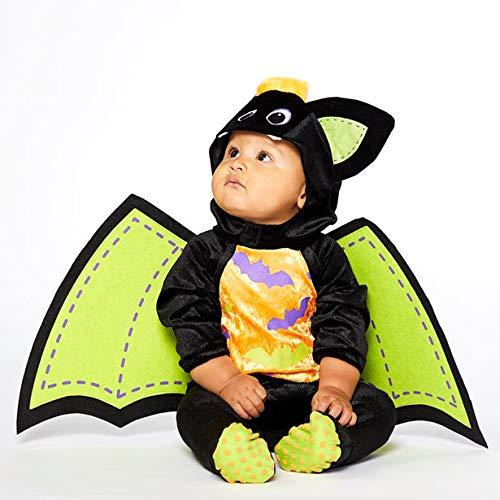 Amscan PDBBAT06 Kids Iddy Biddy Bat Halloween Fancy Dress Costume - Age 6-12 months