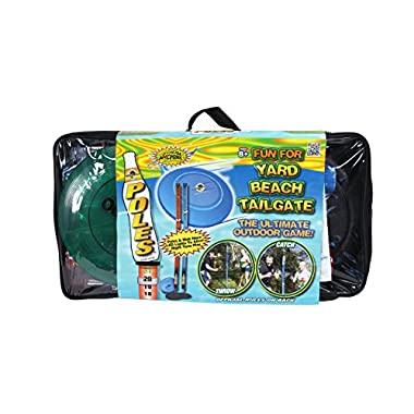 Water Sports Deluxe Poles Game with Disc and Poles