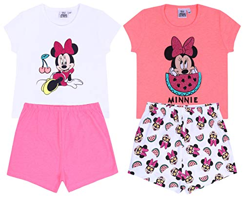 -:- Minnie Mouse -:- Disney -:- 2X Pijama Estampado de sandías