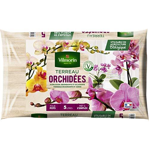 Vilmorin - Terreau orchidées sac de 5 litres