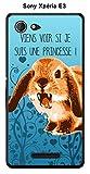 ONOZO Rabbit Princess Case Cover For Sony Xperia E3