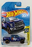 Hot Wheels 2018 50th Anniversary HW Speed Graphics '15 Ford F-150 81/365, Blue