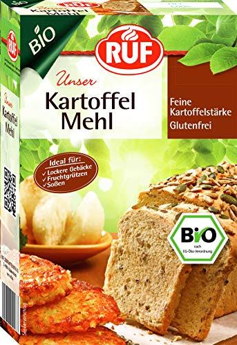 RUF Bio Kartoffel Mehl, 9er Pack (9 x 500 g)