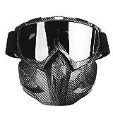 Akozon Gafas de moto, Hombres Mujeres Gafas de moto de nieve...