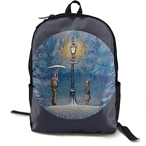Narnia Leichter Rucksack, faltbar, ultraleicht, verstaubarer Rucksack, magische Laterne, Unisex, langlebig, handlicher Tagesrucksack für Reisen und Outdoor-Sportarten