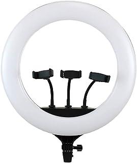 Iluminador Ring Light Greika CL-18 com 3 Suportes para Smartphone