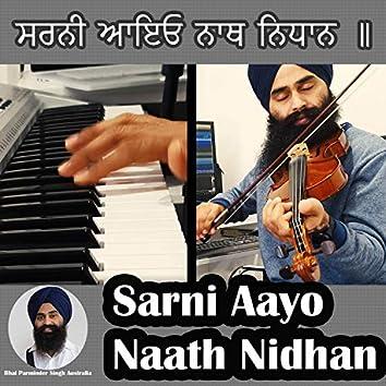 Sarni Aayo Naath Nidhan