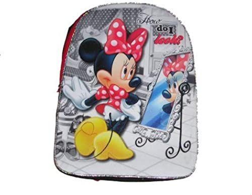 Disney Minnie Mouse Girls School Full Größe Backpack 16 x 12 by Global Design Concepts
