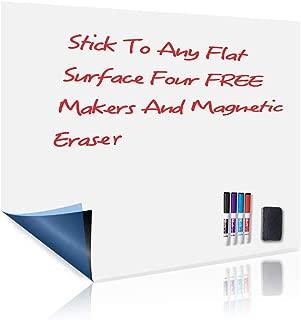 UCMD Magnetic Whiteboard Sticker, Dry Erase Sheet 17