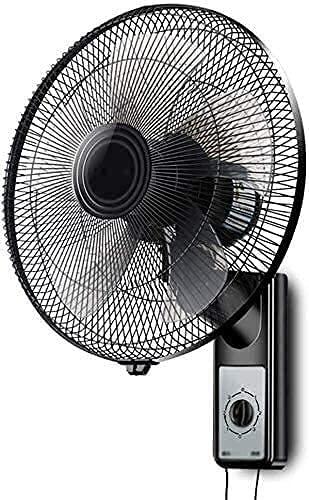 GTBF Ventilador eléctrico de Estilo Antiguo, Abanico la Pared del Ventilador enfriamiento Mute en casa 16 Pulgadas Montado Fan Industrial Head Restaurante