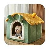 KASHINO Kennel House - Caseta de peluche para perros de invierno (4 estaciones generales, extraíble, para mascotas, conejo, grande, 28 kg)