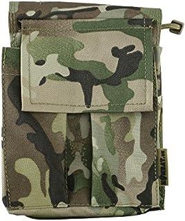 Kombat Waterproof Fully Zipped Notebook Notepad Holder Folder A6 BTP