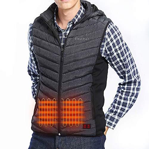 AKASO Men's Nomad Battery Heated Vest…