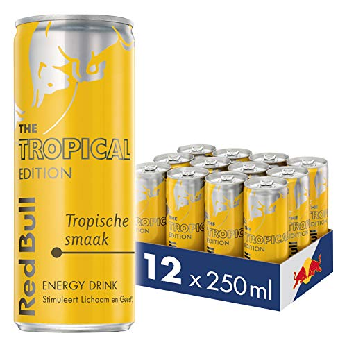 Red Bull Tropical Edition - Tray 12pcs