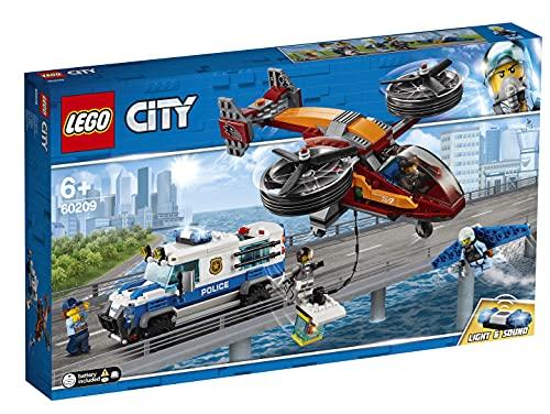 LEGO 60209 City Police Policía Aérea: Robo del Diamante (Descontinuado por Fabricante)