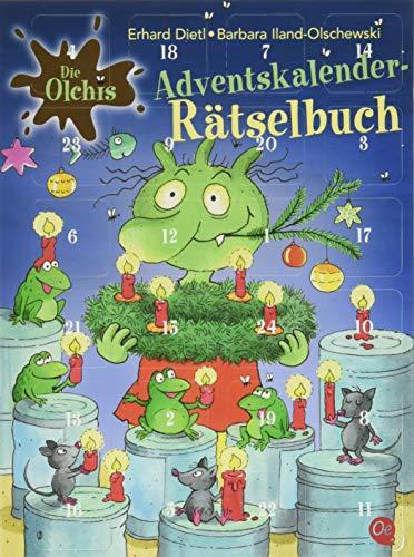 Die Olchis: Adventskalender-Rätselbuch