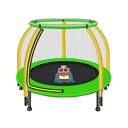 Bedrails HUO Outdoor Trampoline Met Veiligheid Omheining Geef Een Trampoline Sok Kinderen Trampoline Veiligheid Net En Rand Cover