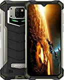 DOOGEE S88 Pro Movil 10000mAh, 6GB + 128GB Cámara Triples 21MP+Cámara Frontal 16MP, 6.3 FHD, IP68/IP69K 4G Móvil Resistente Android 10, LED/NFC/GPS, Telefono Libre Soporte Carga Inalámbrica Verde