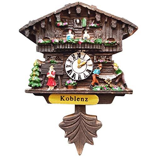 Ciffre Kuckucksuhr Magnet Polyresin Kühlschrank Handmade - Koblenz | Dekoration > Uhren > Kuckucksuhren | Ciffre