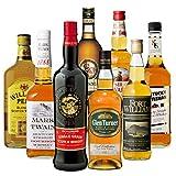 ロッホローモンド オフィシャルボトル &ハイランドのシングルモルト入り! ウイスキー エキスパート 厳選 8本セット スコッチ バーボン ブレンデッド 詰め合わせ 飲み比べ