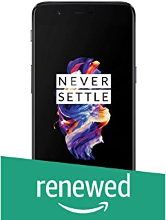 (Renewed) OnePlus 5 (Slate Gray 8GB RAM + 128GB Memory)