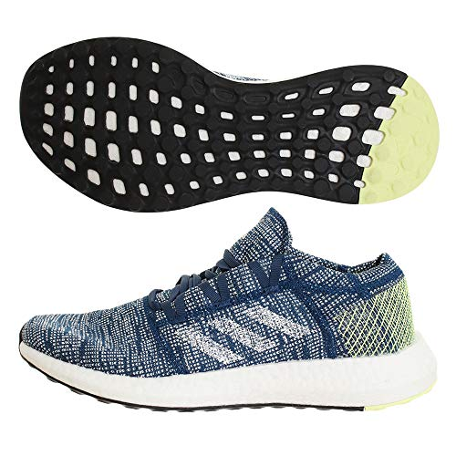 adidas Men's Pureboost Go Fitness Shoes, Multicolour (Marley/FTW Bla/Amalre 000), 7.5 UK