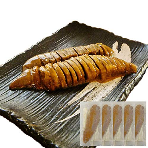 イカ屋荘三郎 珍味 イカわた塩漬50g 5袋 イカわた(肝/ゴロ/ワタ)の塩辛 塩味 国産 石川産 ギフト ヤマキ食品