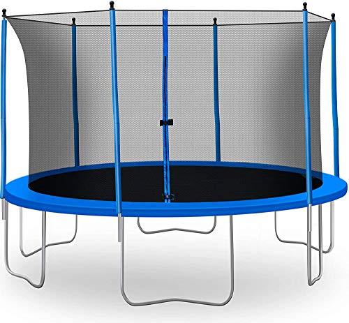 giantex trampolín Combo Bounce Jump Red de seguridad del recinto W/Primavera Pad Escalera