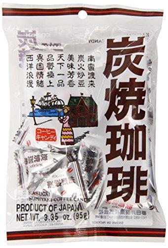 Kasugai Sumiyaki Japanese Roasted Coffee Candy - 3.35 Oz.