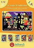 Sabbiarelli Sand-it For Fun - Álbum La Noche de Halloween: 5 Dibujos pre-pegados para Colorear con...