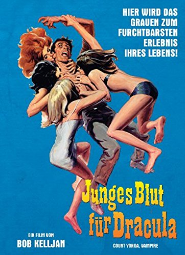 Junges Blut für Dracula - 2-Disc Limited Collector's Edition (Blu-ray & DVD) - Limitiertes Mediabook auf 222 Stück, Cover A
