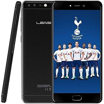 LEAGOO T5C - 5,5 pulgadas FHD (1920 * 1080) Android 7.0 Smartphone 4G, 7,99 mm de metal ultradelgado Unibody, 1,8 GHz Octa Core 3 GB + 32 GB, cámara triple (5MP + 2MP + 13MP): Amazon.es: Electrónica