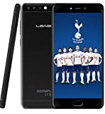 LEAGOO T5C - 5,5 pulgadas FHD (1920 * 1080) Android 7.0 Smartphone 4G, 7,99 mm de metal ultradelgado Unibody, 1,8 GHz Octa Core 3 GB + 32 GB, cámara triple (5MP + 2MP + 13MP) - Negro