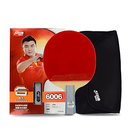 DHS 6-Star 6006 Pen Hold Premium Table Tennis Racket Ping