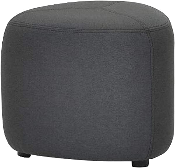 OUG Fabric Stool Cobblestone Pier Stool Practical Wear Resistant Strong Load Bearing Wooden Material Environmentally Friendly Suitable For Everyone Suitable For Bedroom Color Optional 45x38cm