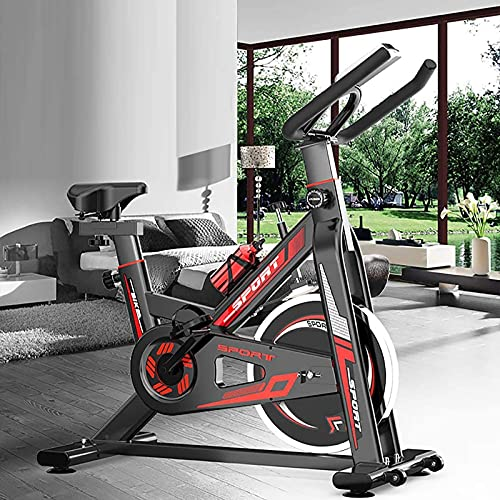 WOERD Indoor Exercise Bike, Smart Connect Cycling Bikes with Heart Rate Monitor, Silent Belt Drive Stationary Fitness Bike For Home Gym with Tablet Holder