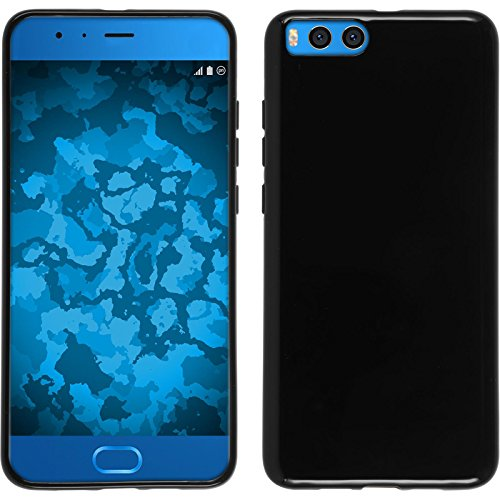 Preisvergleich Produktbild PhoneNatic Case kompatibel mit Xiaomi Mi Note 3 - schwarz Silikon Hülle Cover