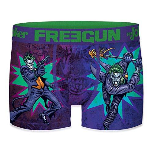 FREEGUN DC Comics The Joker Comics - Calzoncillos para niño Multicolor 8/10 Años