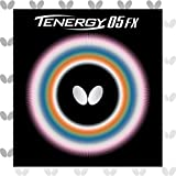 Butterfly Tenergy 05 FX Table Tennis Rubber Sheet - 1.7 mm, 1.9 mm, or 2.1 mm - Red or Black - 1...