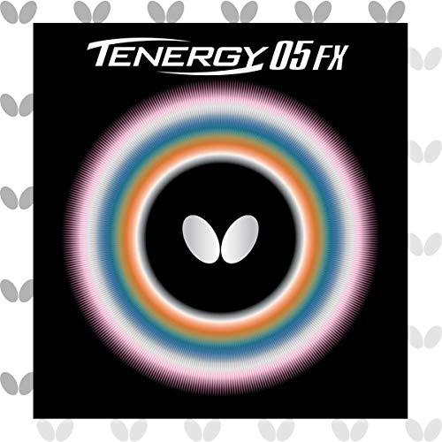 Butterfly Mariposa Tenergy 05FX Tenis de Mesa Caucho, Rojo, 1.9