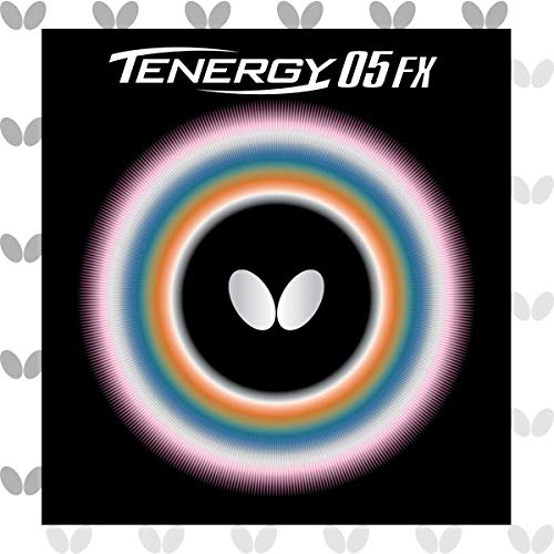 Butterfly Tenergy 05 FX Table Tennis Rubber Sheet - 1.7 mm, 1.9 mm, or 2.1 mm - Red or Black - 1 Inverted Table Tennis Rubber Sheet - Professional Table Tennis Rubbers Alabama