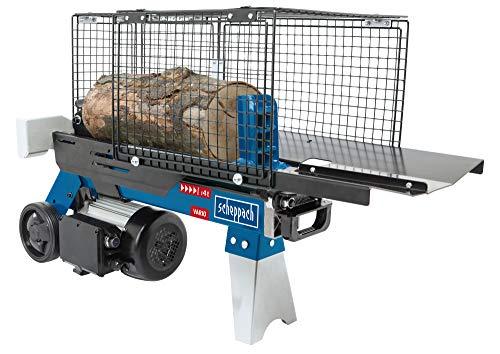 SCHEPPACH HL460 - Cortador hidráulico de leña (hasta 370 mm, 4 toneladas de fuerza de corte 4 toneladas, 230 V, 1500 W)