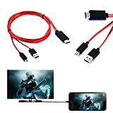 MHL Micro USB to HDMI TV Adapter Cable For Samsung Galaxy Tab 4 SM-T231 7.0'