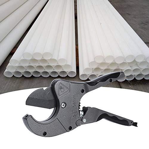 Cuchillas tratadas térmicamente Tijeras para tubos de plástico para trabajos pesados, herramienta de corte para tubos de PVC para tubos de PE de 20-63 mm PPR