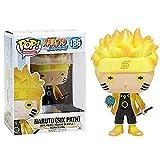 Pop Naruto # 186 Naruto Uzumaki con Caja Figura De Acción Juguetes Colección Modelo De Juguete para Niños 10Cm